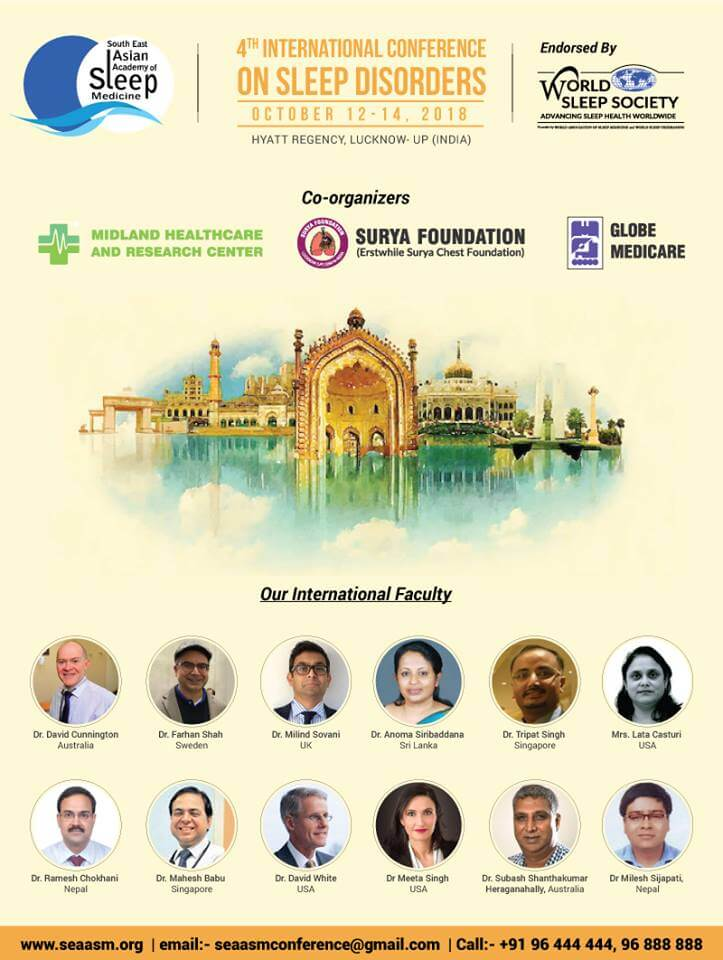 The 4th Conference Of South East Asian Academy Of Sleep Medicine 2018