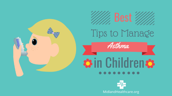 Tips To Manage Childhood Asthma