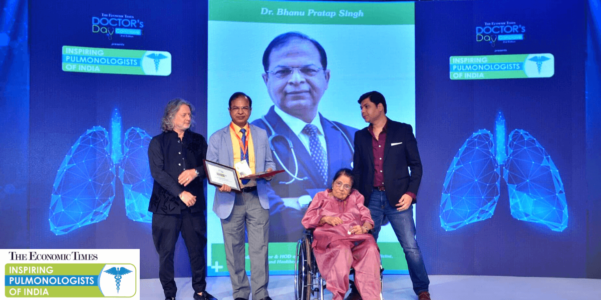 Dr. B. P. Singh Is One Of The Inspiring Pulmonologists Of India According To The Economic Times!