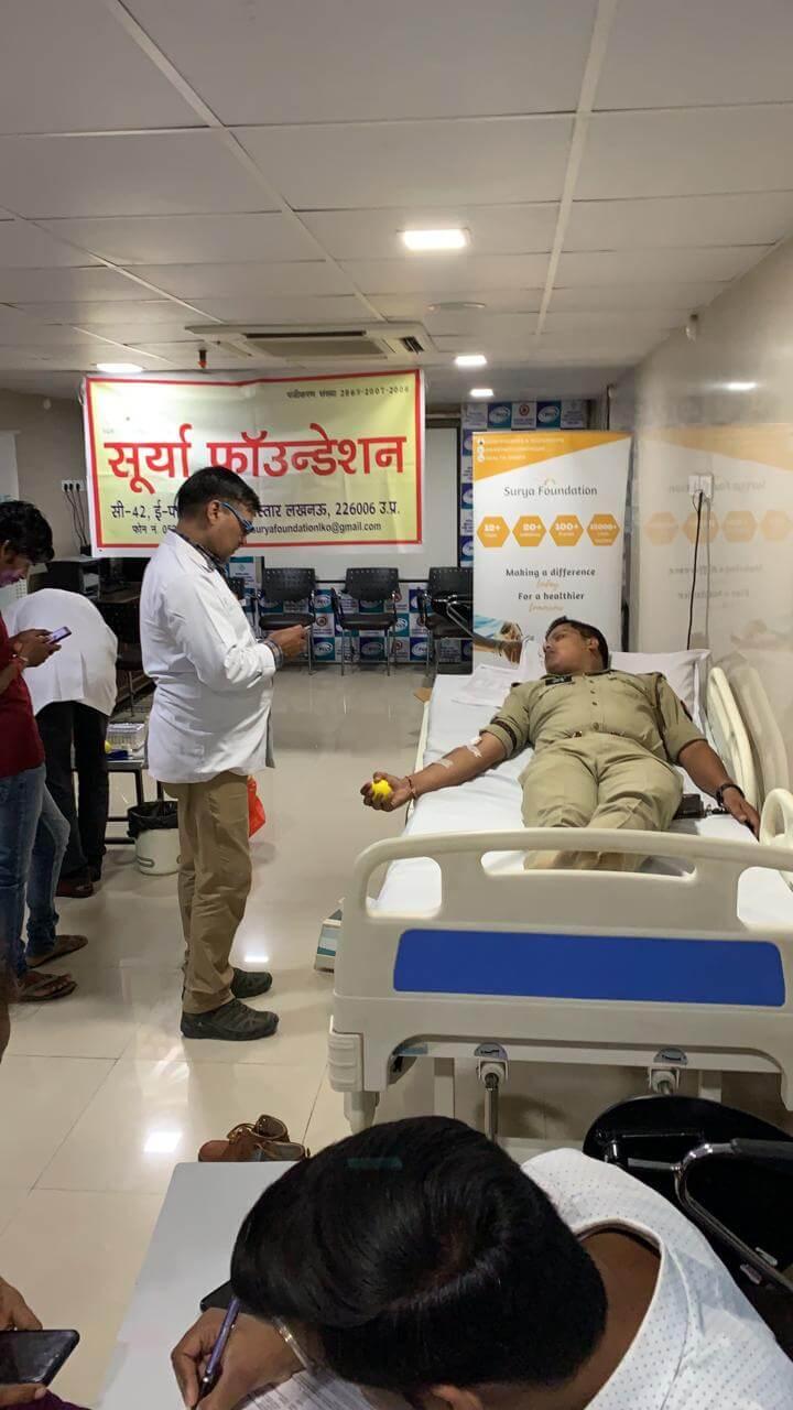 midland healthcare- blood donation camp