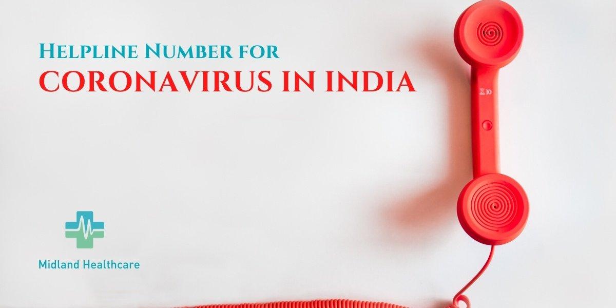 Coronavirus Helpline Number In India